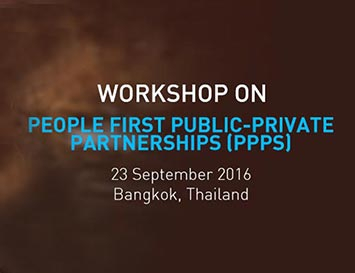 Workshop on People-first Public-Private Partnerships
